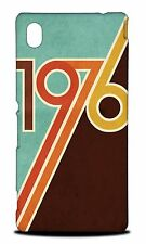 COOL CLASSIC RETRO 1976 HARD CASE COVER FOR SONY XPERIA M4 AQUA