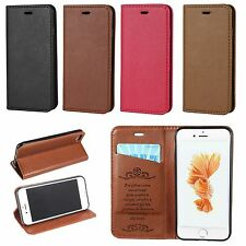 PU Leather Sheepskin Pattern Flip Wallet Stand Case Cover For iPhone 7 7 Plus