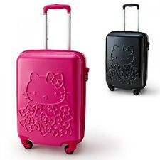 Hello Kitty Travel Luggage Carry On Bag Suitcase Case Sanrio from Japan S6209