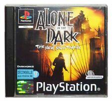 ALONE IN THE DARK: THE NEW NIGHTMARE (PS1 Game) Playstation A