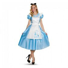 Disguise Disney Alice in Wonderland Classic Animated Movie Womens Deluxe Costume
