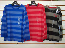 Boys Tommy Hilfiger $26.50 Assorted Striped Long Sleeved T-Shirts Size 6 - 7