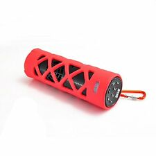 Pyle PWPBT30RD PYLE Bluetooth Water Resistant Flashlight Speaker W/ Call