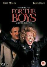 FOR THE BOYS DVD Bette Midler James Caan Mark Ryde New and Sealed UK Release R2