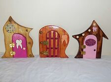 OOAK HANDCRAFTED TOOTH FAIRY DOOR   Fairy decor sprite elf fae home