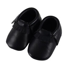 Moccasin Comfortable Baby Soft Bottom Toddler Shoes Baby Shoes Black Tassel