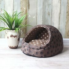 Pet Dog Cat Bed Basket Puppy Cushion House Doggy Soft Warm Kennel Dog Mat Bed