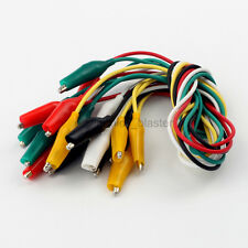 48cm Cable Double-ended Crocodile Alligator Clips Lead Wire