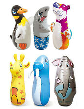 BRAND NEW FLOATING TUMBLER INFLATABLE TOYs ROLY-POLY TOYs BOP BAG Multi Styles