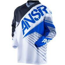 Answer NEW Mx 2016 Syncron White Black Blue Motocross BMX MTB Dirt Bike Jersey