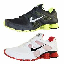 NEW Nike Shox Turbo +11 Running Shoes Sneakers Men White Black 407266 106 017