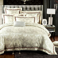 4-Piece Luxury Comforter/Duvet Cover Bedding Set (Queen and King size)