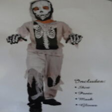 boys zombie skeleton bones costume fancy dress kids halloween boy costumes bones