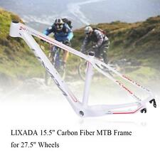 "15.5"" Carbon Fiber MTB Cycling Bicycle Mountain Bike Frame 27.5"" Wheel New"