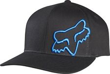 Fox Flex 45FF Cap Hat Black Blue Not Flat Peak MX FO58379013