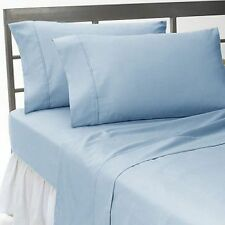 Hotel Bedding Collection-Duvet/Fitted/Flat 1000TC Egyptian Cotton @Sky Blue