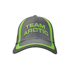 Arctic Cat Team Arctic Mesh Fitted Hat / Cap - Gray - Lime 5273-050 5273-051