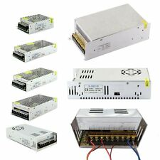 AC 100-240V TO DC 12V/24V Transformer Regulated Power Supply For LED Strip Light