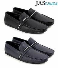 Mens Boat Shoes Slip On Driving Loafers Casual Smart Moccasin Work Deck UK Size