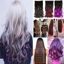 sales Full Head clip in hair extensions Real quality as human hair US Fast Ship
