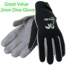 Land & Sea 2mm Neoprene Amara Dive Glove Diving Gloves Black Grey