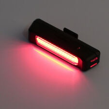 100LM LED USB Rechargeable Head Light Flash Bicycle Bike Tail Safety Lamp New BU
