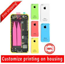 Original iPhone 5c Full Metal Battery Housing Back Cover Assembly Small Part