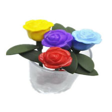 1pcs New Hot  Rose Filter Tea Infuser Silicone Gifts Novelty Strainer