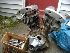 "HARLEY SHOVELHEAD ENGINE 74"" & 4sp.TRANS. (OEM 71 #) CHROME PLATED H-D OEM PARTS"