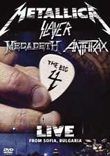 METALLICA SLAYER MEGADETH ANTHRAX BIG FOUR LIVE FROM SOFIA DELUXE DVD X 2 NEW