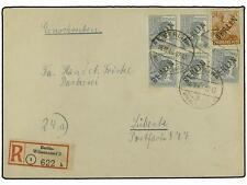 GERMANY. 1948 (Oct 16). WEST BERLIN. Registered cover