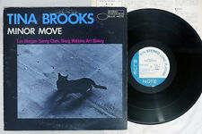 TINA BROOKS MINOR MOVE BLUE NOTE GXK 8162 Japanese Pressing Vinyl LP
