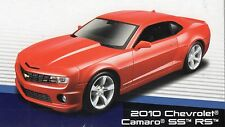 2010 CHEVROLET CAMARO SS RS DIE-CAST METAL MODEL CAR KIT by MAISTO - SCALE 1:24