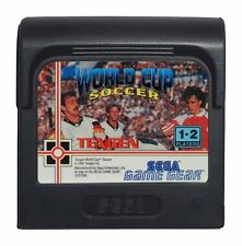 WORLD CUP SOCCER (Game Gear Game) A