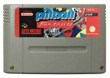 PINBALL FANTASIES (SNES Game) Pin Ball Super Nintendo B