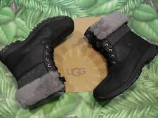 UGG M BUTTE Boot NEW Black Waterproof Leather Winter Mens