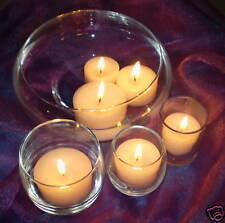 """2.375""""  Floating Votive Cosmic Candles 6 Pk  Colors 19-35  14 Hour   UNSCENTED"""