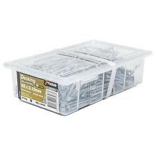 Paslode DECKING GRIPLOCK NAILS 2kg Galvanised- 65x3.15mm, 75x3.75mm Or 100x4.5mm