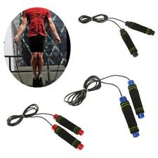 Skipping Jump Rope Foam Handle Boxing Fitness Exercise Gym Jumping Rope