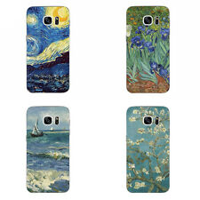 For Samsung Galaxy S6 S7 C7 Edge Case Soft TPU Back Phone Cover Shell  Painting