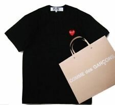 4 Sizes 2016 COMME DES GARCONS CDG PLAY SMALL BLACK HEART T-SHIRT