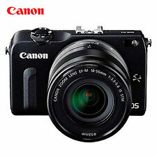 Canon EOS-M2 Interchangeable Lens Digital Cameras + EF-M 18-55mm F3.5-5.6 IS STM