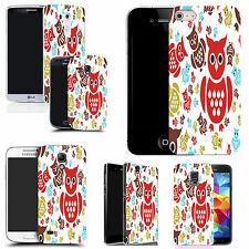 motif case cover for many Mobile phones - coloured owl