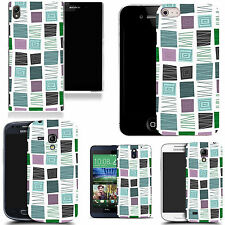 motif case cover for various Popular Mobile phones - square pattern