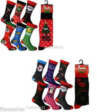 Ladies Mens Christmas Socks Novelty Socks Stocking Filler Xmas Socks.