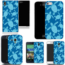 gel case cover for many mobiles  - multi turtle silicone