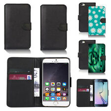 pu leather wallet case cover for many mobiles design ref q128