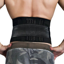 Stabilizing Lumbar Lower Back Support Brace with Dual Adjustable Straps
