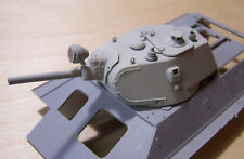WW2 T-34/76 Welded Turret model 1940 T-34 first series 1/35 Conversion Resin