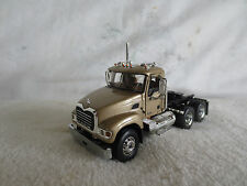 FIRST GEAR 1/64 MACK CAB GOLD HOOKS to DCP TRAILERS TRUCK TRACTOR